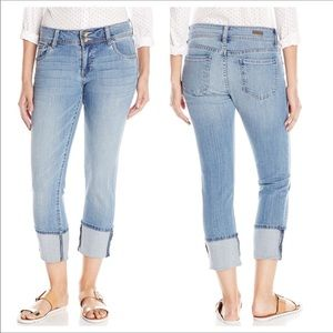 """❤️Kut from the Kloth """"Cameron"""" cropped ankle jeans"""